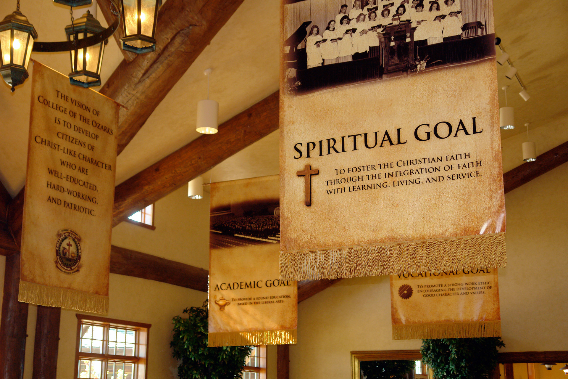 College of the Ozarks banner design