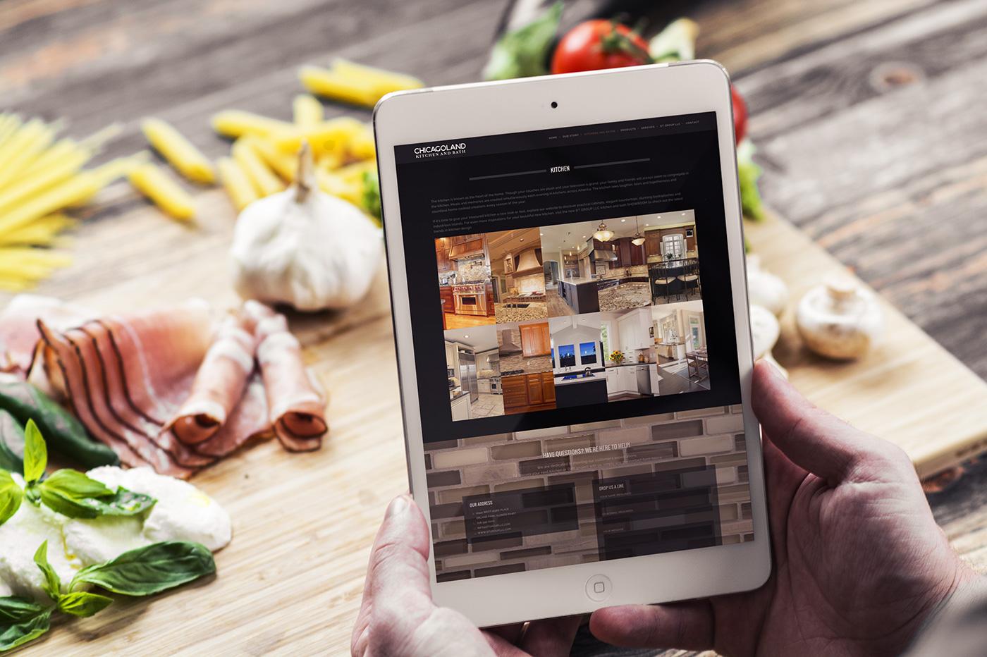 Chicagoland Kitchen and Bath website design