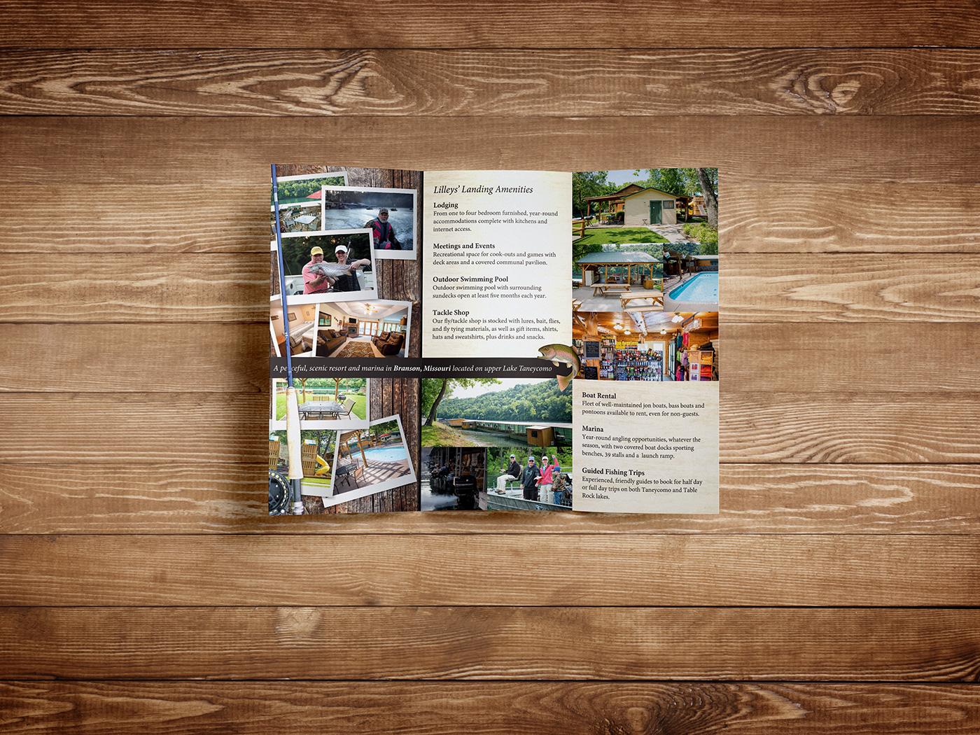 Lilleys' Landing brochure inside