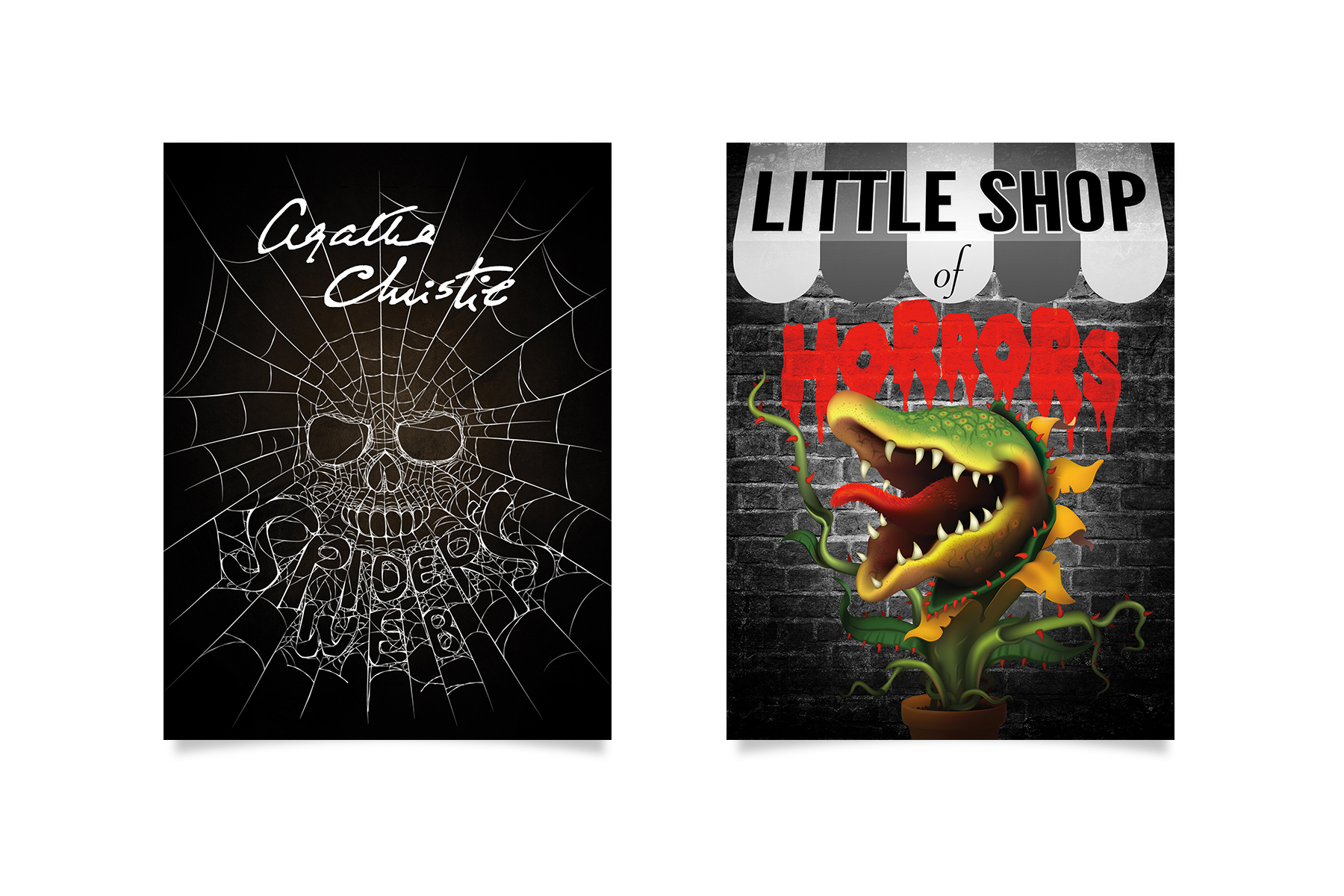 lyceum theatre spiders web little shop of horrors